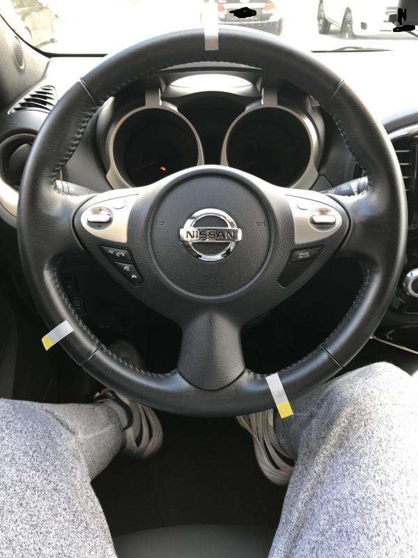 2015 juke sl steering wheel problem. Black Bedroom Furniture Sets. Home Design Ideas