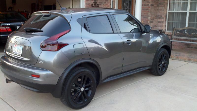 Tires For Nissan Juke 2011 >> Matte Black Stock Rims!