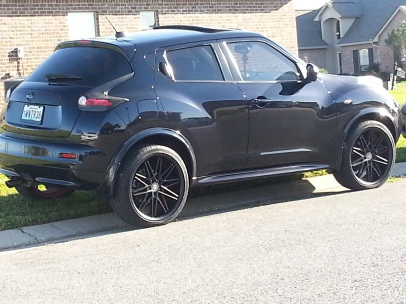 Tires For Nissan Juke 2011 >> found the perfect wheels for my juke!