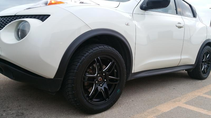 Nissan Juke Tire Size >> Show Off your AfterMarket Wheels/tires Thread - Page 84