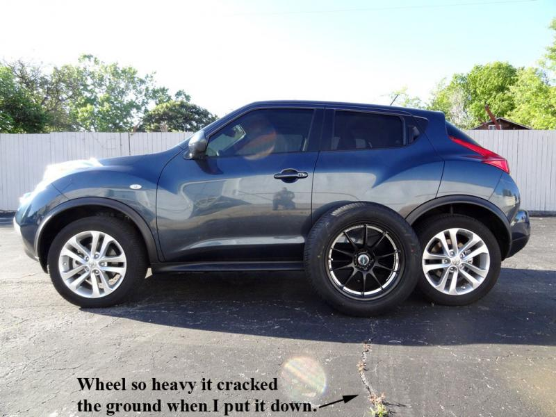 """2012 JUKE SV AWD (The Journey To A 3"""" Suspension Lift ..."""