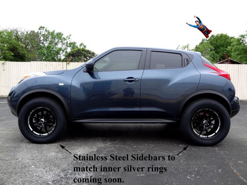 """Nissan Juke Tire Size >> 2012 JUKE SV AWD (The Journey To A 3"""" Suspension Lift) - Page 9"""
