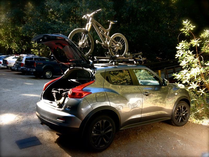 ... Custom Thule Roof Rack   Bike Rack Install Aimg_7564 ...