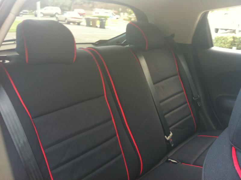 VWVortex.com - Full Set - Wet Okole Seat Covers for GTI/R32 Black w ...