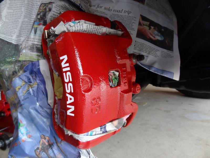 Gsf Car Parts >> Painted brakes - Page 2 - Nissan-Navara.net
