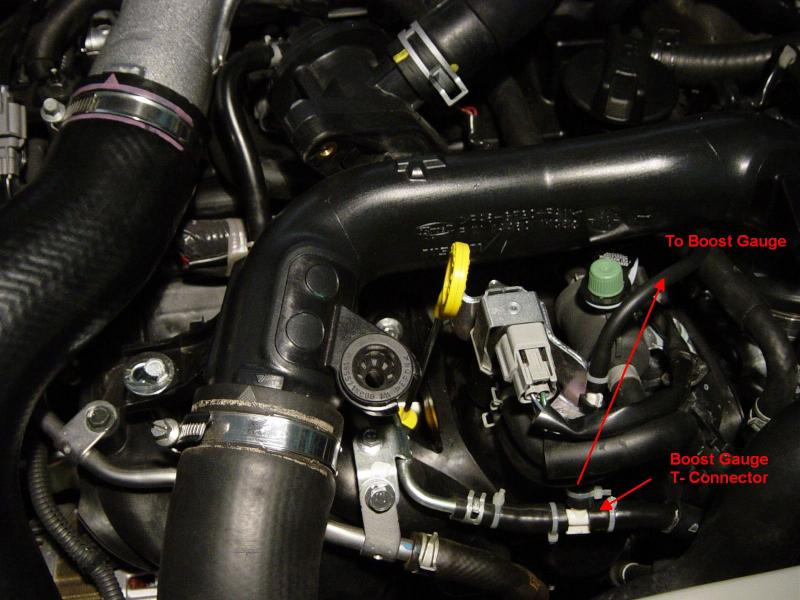 exhaust pressure sensor location coolant temperature