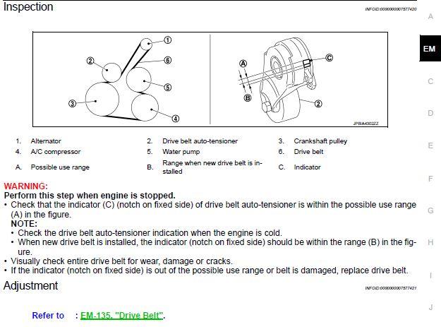 Juke serpentine belt replacement / changed? | Nissan Juke : Juke ForumsJuke Forums