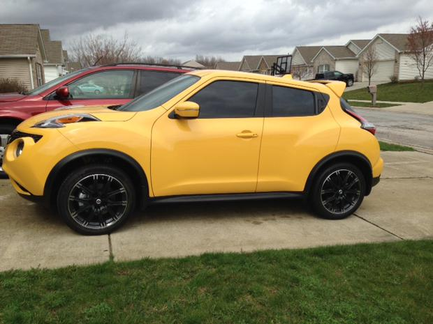 Best Winter Tires 2017 >> Best looking rims style and color for a yellow Juke?