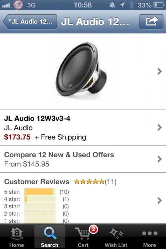 Thinking About Putting These Subs In My Juke Any Thoughts