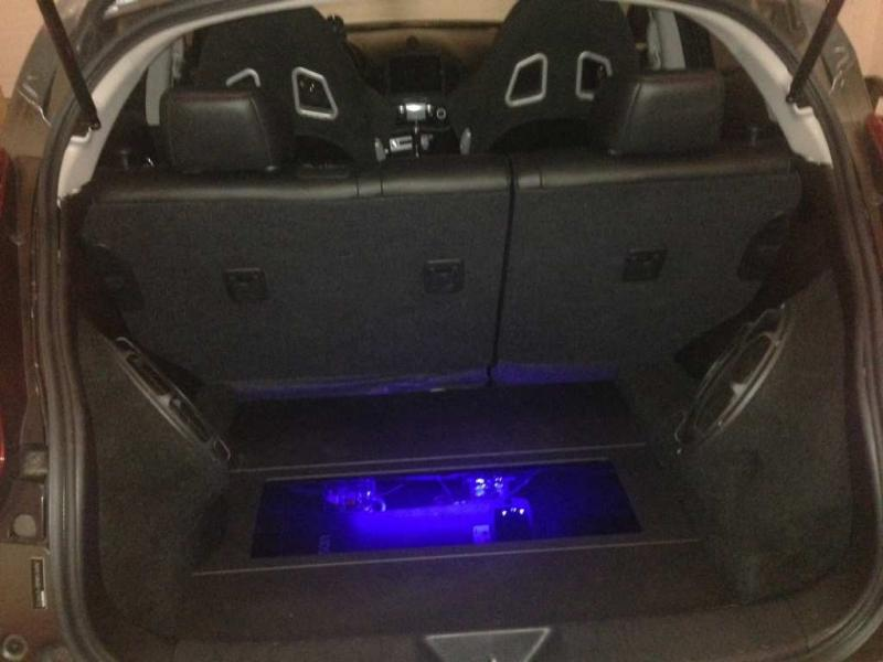 Nissan Fairfield Ct >> My custom subwoofer enclosure in the back of my Juke. - Page 2
