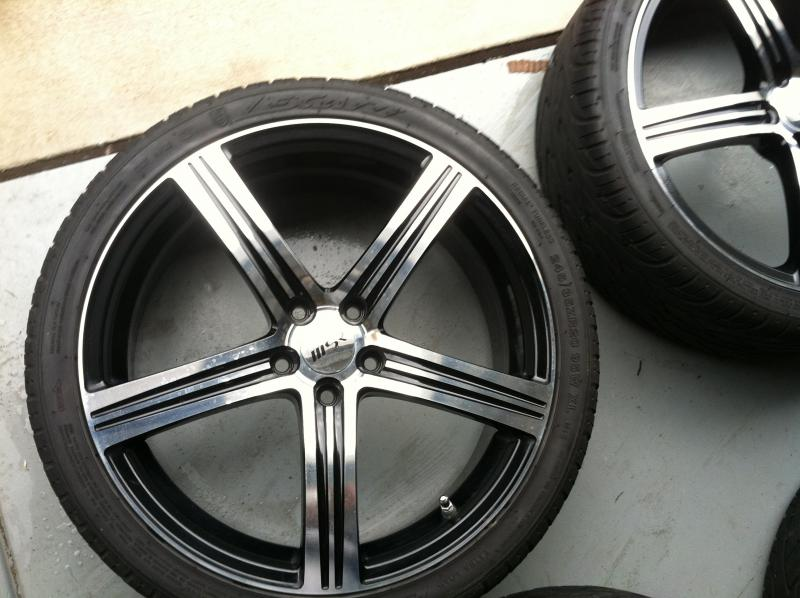 Closed* FS: 20 Inch MSR Rims and Tires $700!!- Raleigh,NC