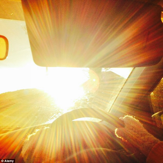 Auto Headlights And Driving Into The Sun