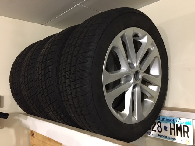 FS: Like new snow tires and OEM wheels/rims in illinois