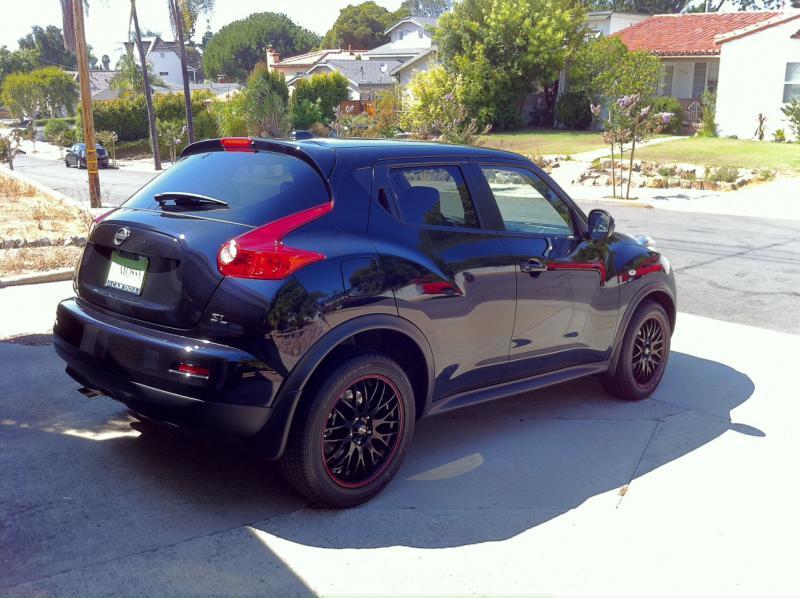 Nissan Juke Tire Size >> My wheels installed today - yeeeessss!!!