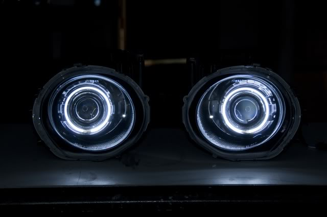 Updated Headlights  Morimoto Fxr Bixenon Projector