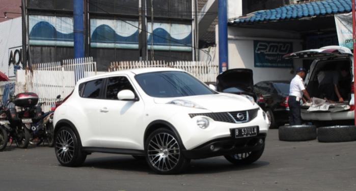 D Inch Rims Nissan Juke Innovit Front