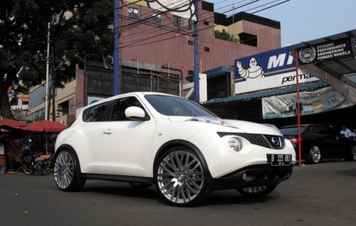 Show Off Your AfterMarket Wheels Tires Thread Nissan Juke Khan 22