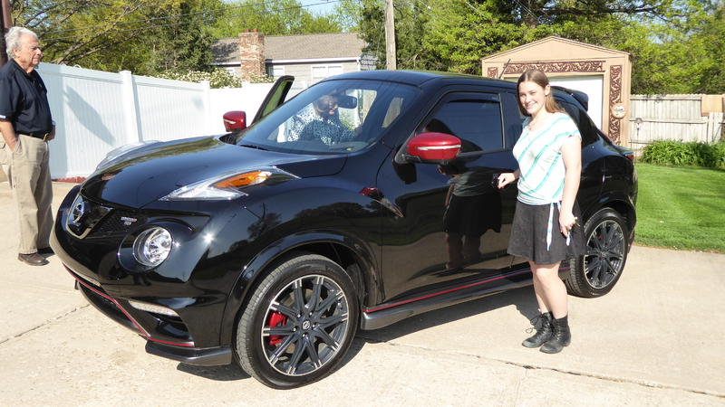 Daughters First New Car 2015 Nissan Juke Nismo Rs Awd Black