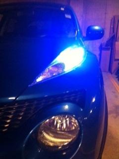 My New Parking Lights Gator Eyes
