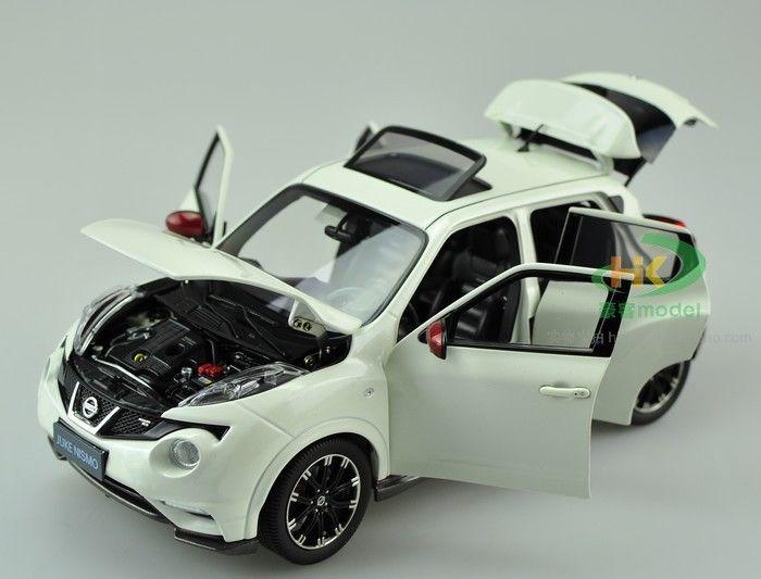 1 18 Nissan Juke Nismo Rs Die Cast Model White
