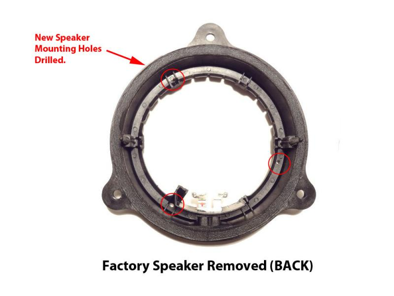 Replaced Clarion Speakers With Clarion Speakers